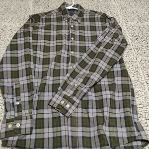 Men's Faded Glory button down shirt long-sleeved